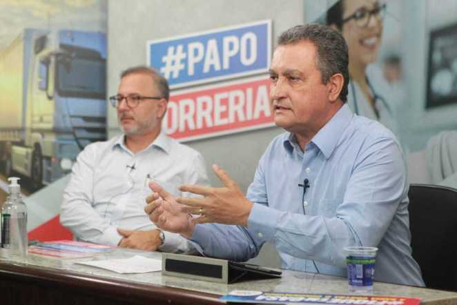 Edição do #PapoCorreria desta sexta-feira (27) (Foto: Fernando Vivas/GOVBA)