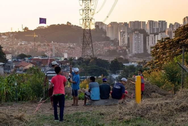 Jardim Mirante, zona sul de São Paulo (Foto: Gsé Silva/DiCampana Foto Coletivo)