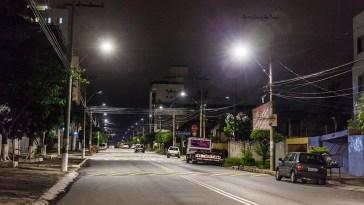 Rua Coronel Jairo Pereira - depois (Foto: Bruno Lavoratto)