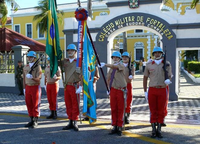 Professores de colégios militares relatam interferência ideológica no currículo disciplinar (Foto: Carolina Antunes/PR)
