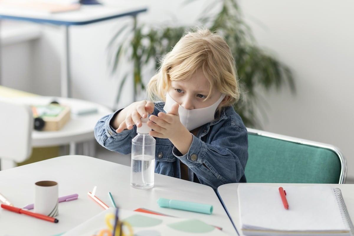 7 cuidados para prevenir a Covid-19 em crianças