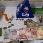 Homem detido com drogas na Praia do Morro