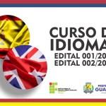 Curso de Idiomas para alunos e servidores municipais está com inscrições abertas