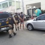 PRF prende quadrilha suspeita de assaltar pedágio em Guarapari