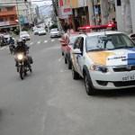 PM multa 12 motoristas no primeiro dia de ação conjunta com a Prefeitura