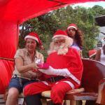 Papai Noel de Perocão voltou e realiza ação solidária neste natal