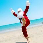 Papai Noel confirma agenda de férias em Guarapari