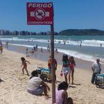 Praia é só diversão? Bombeiros orientam sobre os riscos na areia e no mar