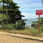 Praias mais frequentadas de Guarapari estão impróprias para banho