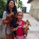 Um ato de amor: dona de casa adota 13 cachorros abandonados