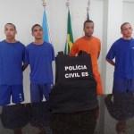 Envolvidos na morte de criança de sete anos são apresentados pela DCCV de Guarapari