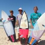 Meninos prodígios do surf em Guarapari estão de olho no futuro