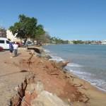 Ritmo das obras causa preocupação em Meaípe