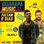 Guarapa Music com Aviões do Forró e DJ Vintage é cancelado