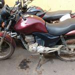 10ª Companhia Independente de Anchieta recupera motocicleta