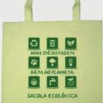 Guarapari mais verde! Sacola ecológica.