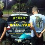 PRF prende traficantes em Guarapari com dois tabletes de maconha