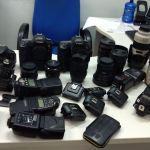 Polícia de Guarapari prende receptador de materiais fotográficos roubados