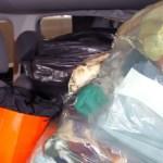 Malas e compras nos bancos do carro podem gerar multas e pontos na carteira