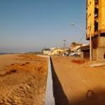 Perto do fim, obra na Praia do Riacho não agrada moradores em Guarapari