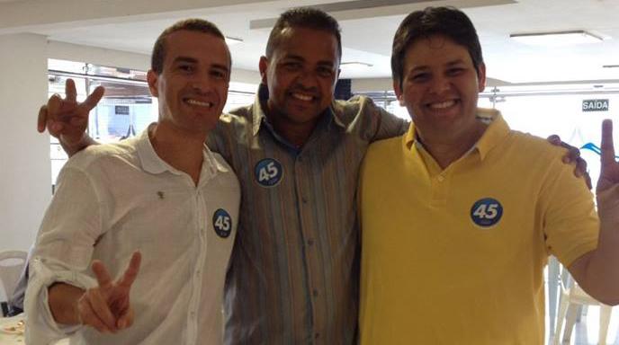 Dr. Érico Djan anunciou apoio à chapa Dinaldinho/Bonifácio Rocha