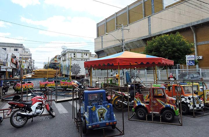 Seis ruas são fechadas para realização da Festa da Padroeira de Patos