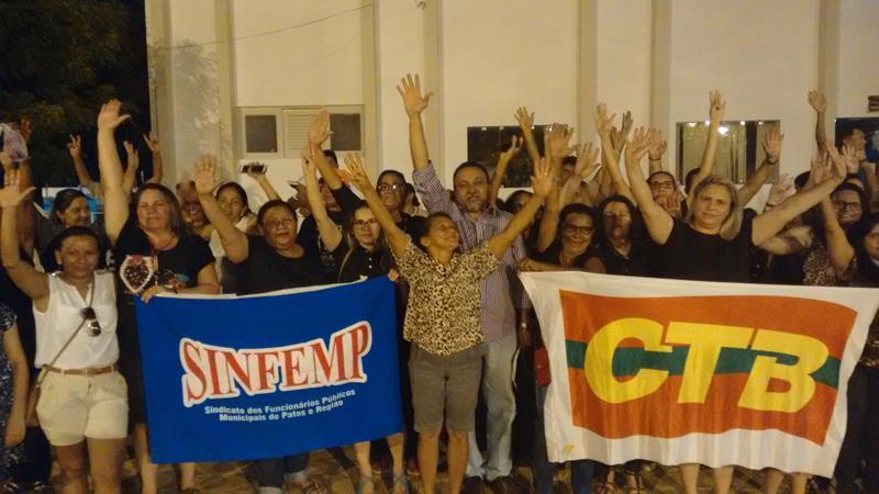 Servidores de São José de Espinharas entrarão em greve a partir desta quinta-feira, dia 29