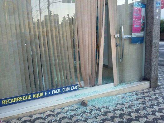 Mais uma loja é atacada no centro de Patos
