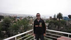 Em Valparaíso, numa das casas do poeta Pablo Neruda.