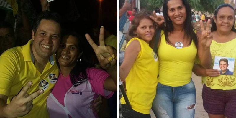 Sheyla Massarara busca novo partido, mas só se filia se o partido for ligado a Dinaldinho