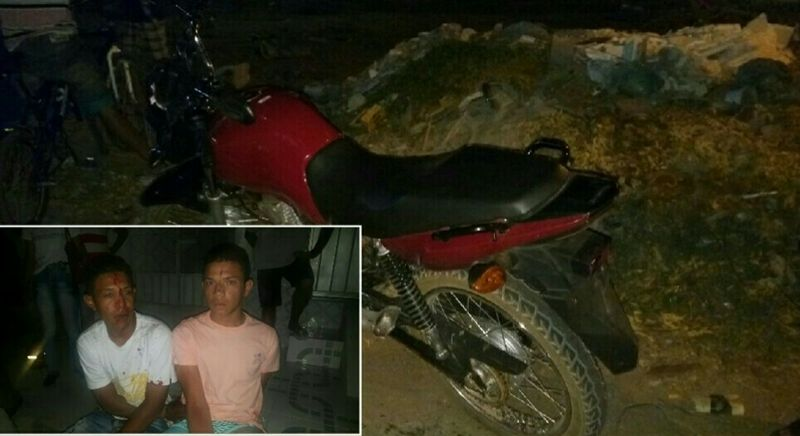 Após roubo, dupla é perseguida por PM à paisana, colide em veículo, e é presa