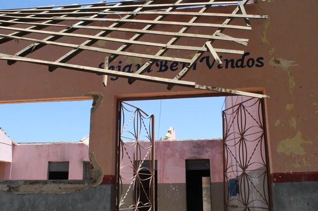 Moradores do Bairro São Sebastião pedem reconstrução da Escola Maria Nunes