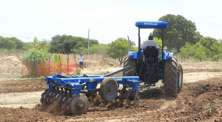 Secretaria de Agricultura inicia trabalhos de cortes de terras