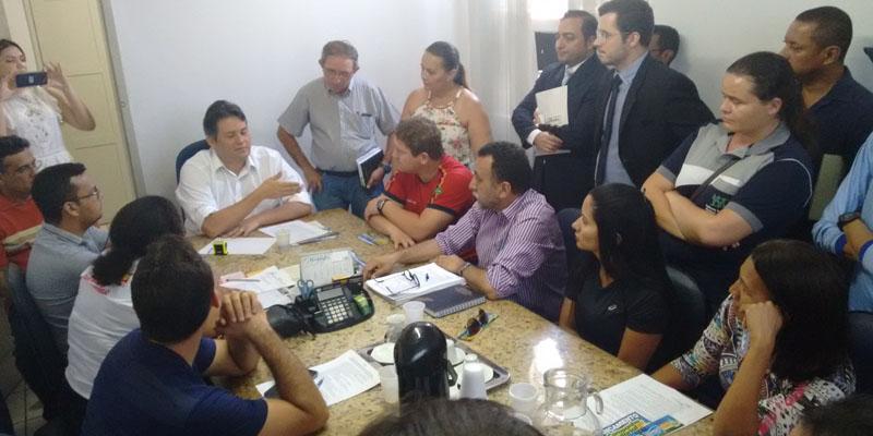 SINFEMP é recebido em audiência pelo prefeito de Patos