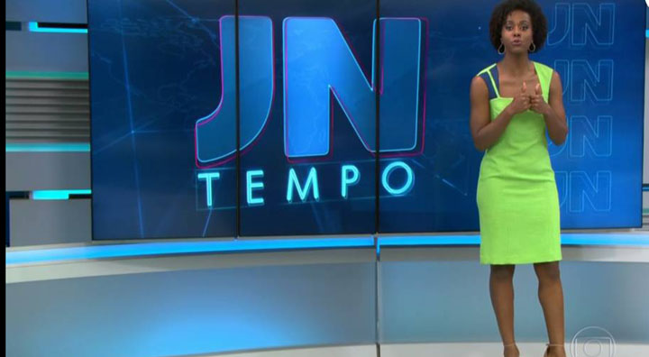 Maria Júlia, do Jornal Nacional, acertou a previsão: chove bem na cidade Patos