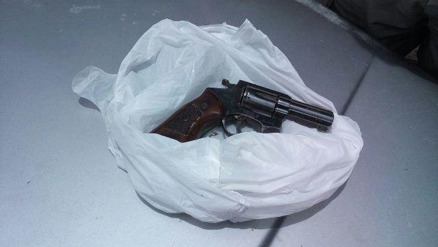 Arma usada no duplo homicídio ocorrido em Santa Luzia é localizada