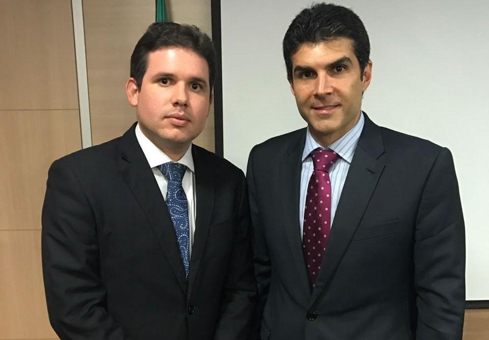 Hugo Motta se reúne com ministro e solicita plano emergencial de abastecimento para 23 cidades