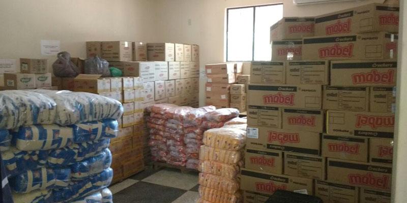 Secretaria de Educação de Patos distribui nova remessa da merenda escolar