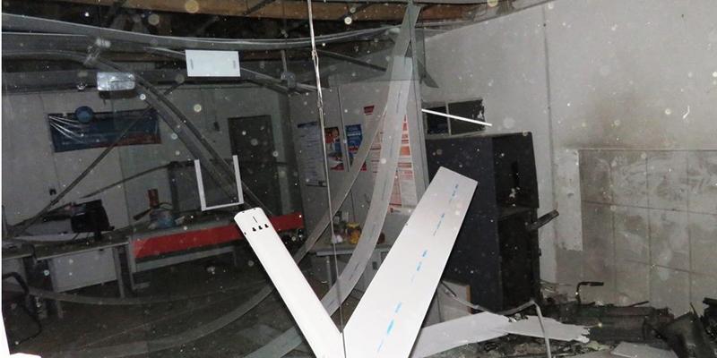 Agência do Bradesco é explodida em Junco do Seridó na madrugada de hoje