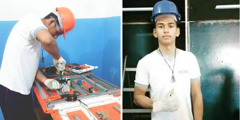 Jovem com muitas qualificações técnicas e à procura de emprego em Patos