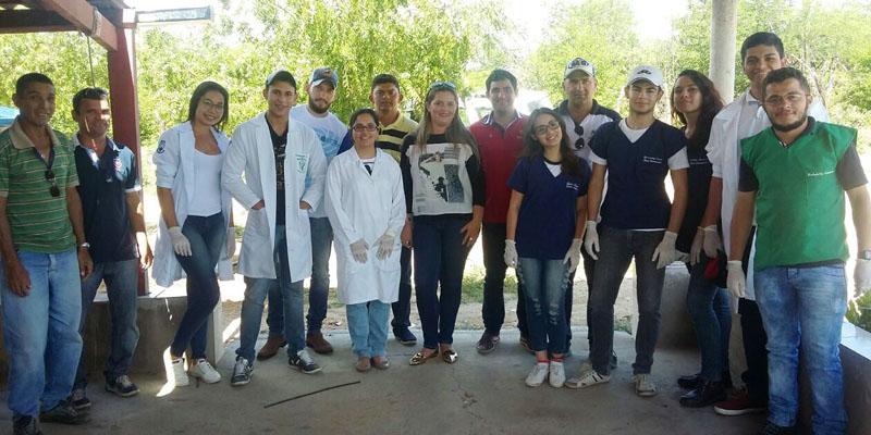 Continua Campanha de Vacinação Antirrábica na zona rural de Patos