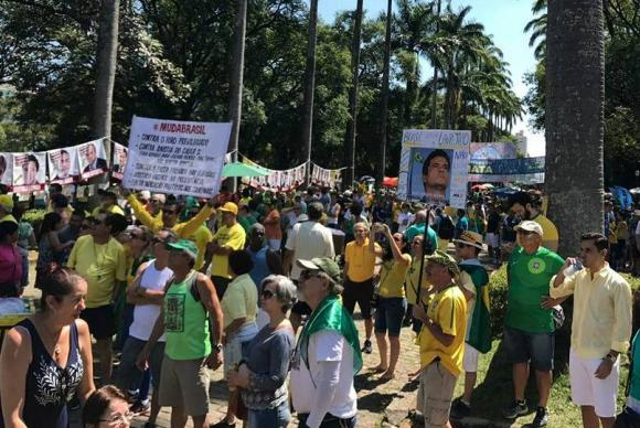 Protesto em defesa da Lava Jato teve baixa adesão