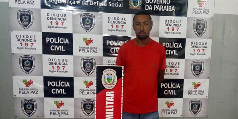 Homem é preso em Patos por furtar arma de fogo de uso restrito