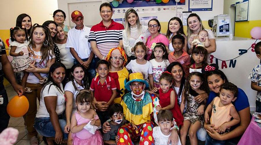 Saúde de Coremas comemora o Dia das Crianças