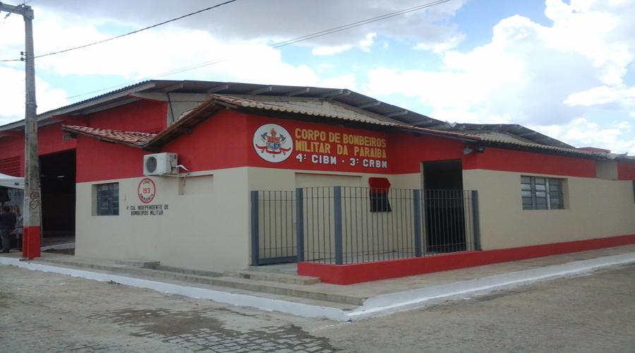 Inaugurada nova Companhia de Bombeiros Militar em Itaporanga