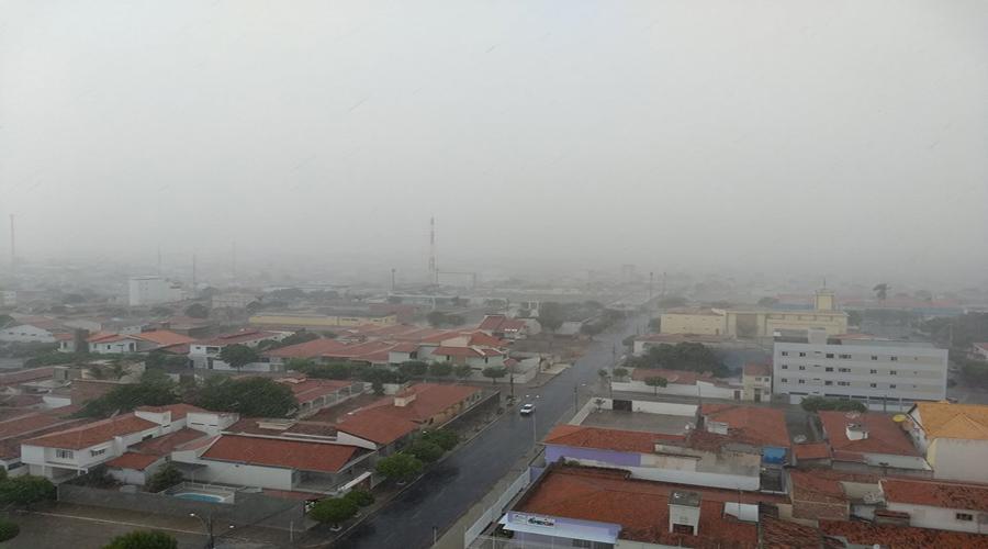 Inmet coloca toda a PB em alerta para chuvas e risco de deslizamentos