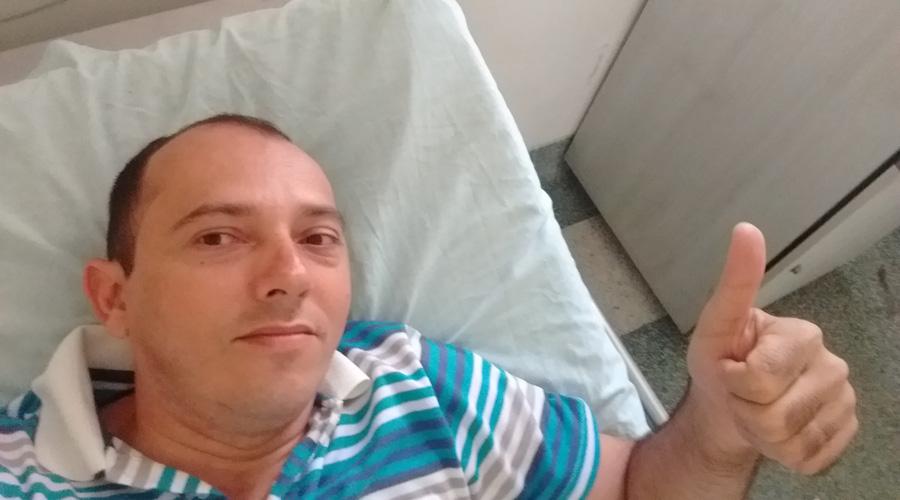 Jornalista Genival Júnior dá um depoimento sobre a epilepsia e a realização da sua cirurgia