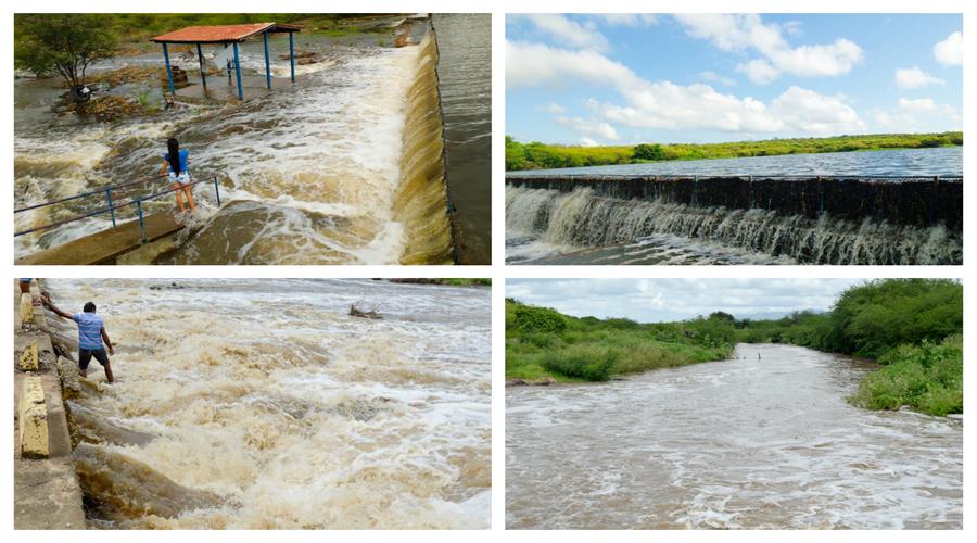 Fotos mostram resultado das últimas chuvas na zona rural de Catingueira