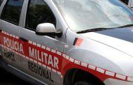 Policia Militar prende acusado de esfaquear a esposa na cidade de Patos
