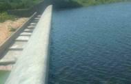 Barragem da Farinha pega mais água e pula de 30,66% para 32,11% de sua capacidade